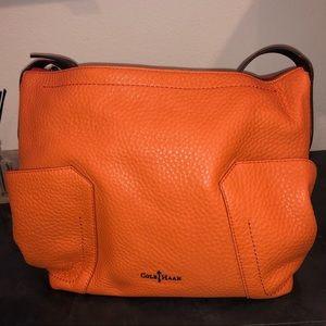 Cole Haan orange purse